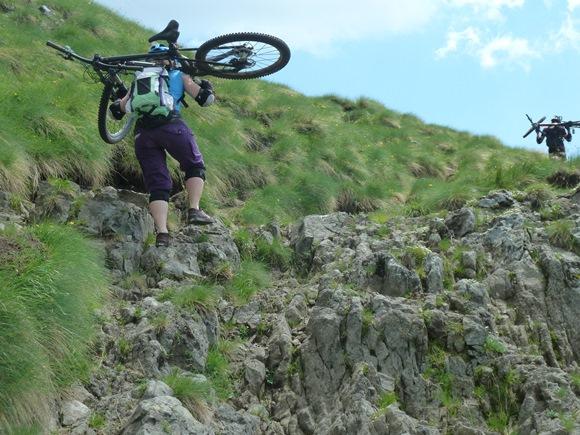 (Bike-) Bergsteigen_Dolos_G
